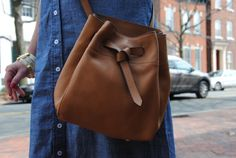 The Annabel Ingall bucket bag has a cross body sister!