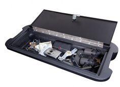 Vertically Driven Products - VDP  2007-2012 Jeep JK Wrangler Locking Hidden Storage Vault