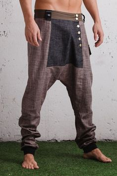 VALO LUMO A drop crotch harem pant with eye by VALOdesigns https://www.etsy.com/listing/209097114/valo-lumo-a-drop-crotch-harem-pant-with?ref=related-2