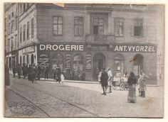 Street View, Retro, Historia, Retro Illustration