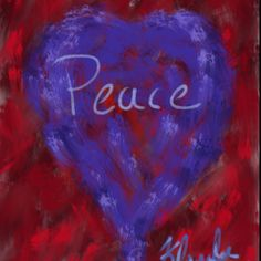 """Today's painting. """"Peace"""""""