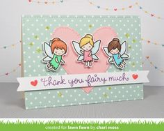the Lawn Fawn blog: Lawn Fawn Intro: Fairy Friends and Stamp Shammy