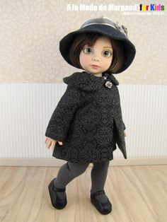 "Ebay a_la_mode_de_margaud's ""Dolled Up Winter"" coat for  Tonner Patsy 10"""