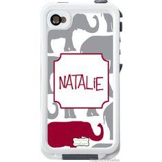     1152 Elephant Parade LifeProof® iphone 4/4S DECAL   Lipstick Shades