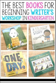 Narrative Writing Kindergarten, Writing Mentor Texts, Beginning Of Kindergarten, First Grade Writing, Kindergarten Lessons, Writing Lessons, Teaching Writing, Kindergarten Writers Workshop, Kindergarten Reading