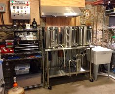Gourmet Recipes, Gourmet Foods, All Grain Brewing, Brewery Design, Home Brewing Equipment, Home Brewery, Cider House, Beer Brewing, Bottle Design