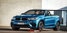 BMW X6 imagined as a convertible