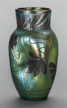 Vase by Johann Lötz Witwe