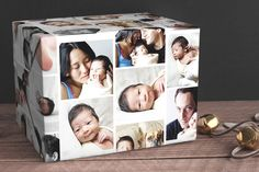 Make your gift extra personal with this custom photo gift wrap! The possibilities are endless - mazelmoments.com