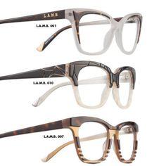 Magazine / LAMB by Gwen Stefani eyewear! Fashionable, chic, and stylish sunglasses and optical. Cool Glasses, New Glasses, Glasses Frames, 2017 Glasses, Classic Glasses, Stylish Sunglasses, Sunglasses Sale, Designer Eyeglasses, Gucci Eyeglasses
