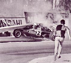 asaucerfulofwheels — John Love/Accident/Kyalami '71 (Cevert was not so...