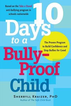 Bully-Proof Your Child offers strategies on the latest forms of bullying, like cyber-bullying via instant message and networking sites. With anecdotes throughout, it book also teaches how to successfully approach another parent or a school about bullying.