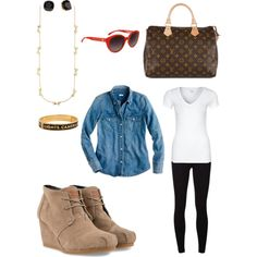 Great outfit & accesssories!