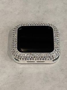 Apple Watch Fashion, Apple Watch Sizes, Silver Apples, Apple Watch Accessories, Silver Labs, Lab Diamonds, Silver Metal, Gold Bands, Fashion Watches