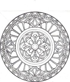 You have to see doodling on Craftsy! - Looking for quilting project inspiration? Check out doodling by member bellabarbara. - via Mandala Art Doodle Coloring, Mandala Coloring Pages, Coloring Book Pages, Printable Coloring Pages, Mandala Doodle, Zen Doodle, Mandala Art, Doodle Art, Zentangle Patterns