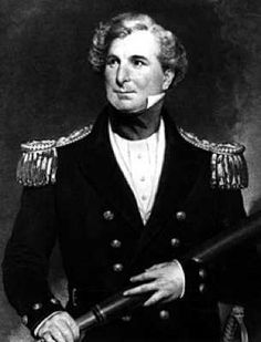 James Clark Ross led an expedition between 1839 and 1843. He took two ships; the HMS Erebus and the HMS Terror. At the time he had gone further south than any man before him, and was perhaps the first to learn that Antarctica was a continent and not just a number of islands.