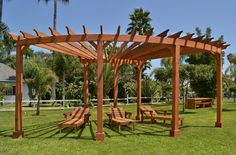 Fan Pergola Kits, Built to Last Decades | Forever Redwood