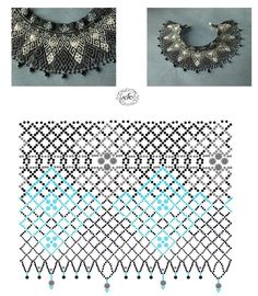 Beading Techniques, Beading Tutorials, Beading Projects, Beading Patterns, Diy Necklace Patterns, Diy Jewelry Inspiration, Beaded Jewelry Designs, Handmade Beads, Bead Weaving