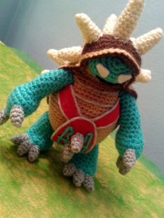 Amigurumi Rammus (LOL - League of Legends)