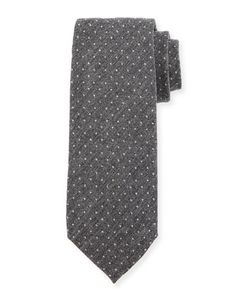 Dot+Wool+Tie+by+TOM+FORD+at+Neiman+Marcus.