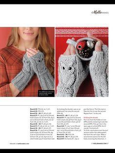 View album on Yandex. Knitting Designs, Knitting Patterns Free, Baby Knitting, Knitting Projects, Free Knitting, Free Pattern, Crochet Mittens Pattern, Knit Mittens, Crochet Owls