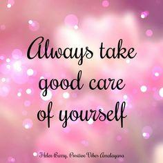 Always take