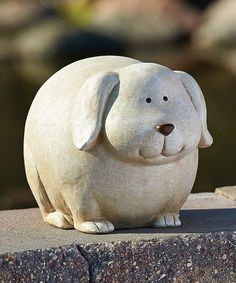 Look what I found on #zulily! Dog Garden Statue by Roman #zulilyfinds