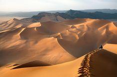 The desert of Southern Algeria