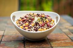 strange craving for me - but I've been craving a bean salad lately...  Three Bean Salad with Feta