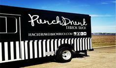Punch Drunk Fashion Truck   Find a Fashion Truck   #fashiontrucks #mobileboutiques #FFT