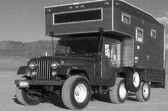 1969 Jeep Camper: One of the Rarest Campers in Existence Old Jeep, Jeep Cj, Cool Campers, Rv Campers, Truck Camper, Camper Van, Luxury Campers, Rv Mods, Vintage Jeep