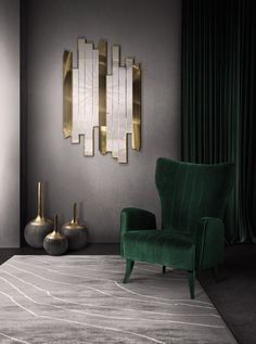 25 Sensational Modern Chairs You Must Have Next Season | Accent Chairs. Velvet Chairs. #chairdesign #velvetchair #upholstery Read more: https://www.brabbu.com/en/inspiration-and-ideas/interior-design/sensational-modern-chairs-season