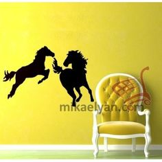 Animal stickers>Animal sticker - Horses for sale from12.99  #animal #art #stickers #decal