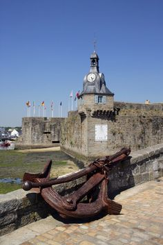 No matter where I go I will always have a special place for concarneau! Week End Bretagne, Places Ive Been, Places To Go, Monuments, Region Bretagne, France City, Brest, France Travel, Strand