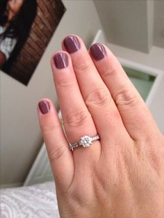 IN LOVE with my new shellac color for fall :)