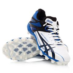 reputable site a0f7e 068e6 Asics Gel Lethal Ultimate IGS 8 - Mens Football Boots - White Black Bass  Strait