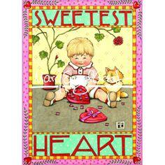 Valentine Magnet: Sweetest Heart