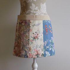 "Monika Nowakowska on Instagram: ""Wrap skirts now available from my etsy shop. #madeinireland #buyirish #wrapskirt #miniskirt #envelopeskirt #patchworkskirt #summerskirt…"""