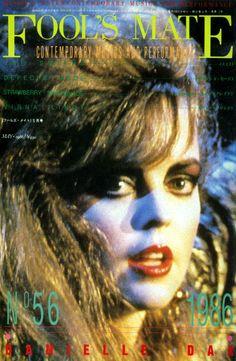 """""""flouvonne:  Danielle Dax FOOL'S MATE magazine may ・ 1986  """""""