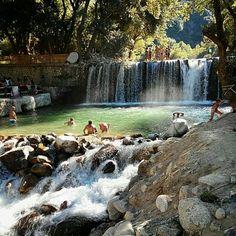 Le cascate di San Nicola a Caulonia. RC Italy.
