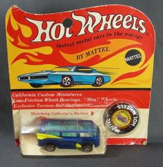 Hot Wheels http://oldgreencottage.com/1960s.html