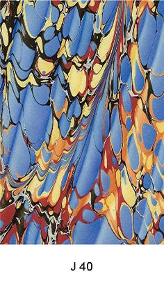 An Exclusive Range of Hand Marbled Paper By Jemma Lewis.