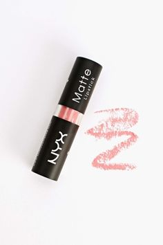 NYX Matte Lipstick - Pretty In Pink