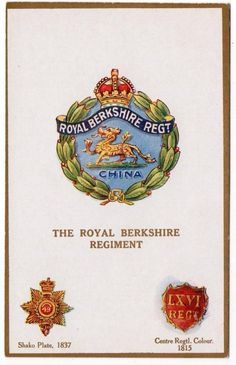 British; Royal Berkshire Regiment