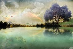 Epic Landscape (digital) by Carolum Art