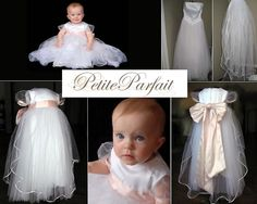 turn your wedding dress into a christening gown by upcycling it!