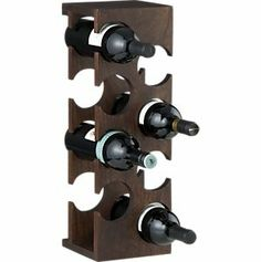 Woodinville Wine Rack, Crate and Barrel Wood Wine Racks, Wine Glass Rack, Bottle Rack, Wine Bottle Holders, Wine Shelves, Wine Storage, Wine Stand, Wine Collection, Wooden Projects