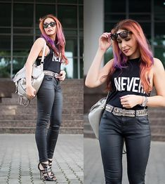 More looks by Adriana Delia Barar: http://lb.nu/badstyle  #grunge #street