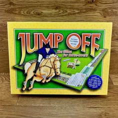 Stage Coach Games Jump Off The Game For Horse Lovers Show Jumping Board Vintage Stage Coach, Horse Games, Game Sales, Show Jumping, Family Games, Racing, Lovers, Horses, Play