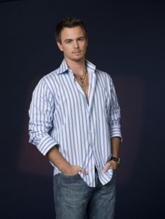 Darin Brooks is Noah Pryce, Violet's love interest in Love By Loss, Book 4 in my Love By Series. He's a landscaper and single father.